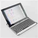 New Ultrathin Mobile Aluminum Bluetooth Wireless Keyboard for Apple iPad 2 3
