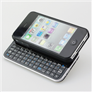 New Bluetooth Slide-out Black Keyboard & Case with USB Cable for Apple iPhone 4 4S