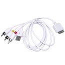 6FT TV RCA Video Composite AV Cable +USB for Apple iPad iPhone 4 4G 3GS iPod