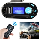 Car MP3 Player FM Wireless Transmitter USB SD MP3 Player LCD Car Charger Kit Mic