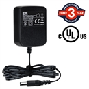 FITE ON 9V 1AUL Certified AC/DC Power Supply Charger Adapter with Negative Round Tip